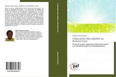 Bookcover of L'éducation des adultes au Burkina Faso