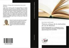 Capa do livro de Théorie critique de la réalisation de soi de Maslow