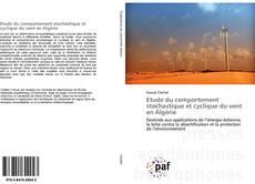 Capa do livro de Etude du comportement stochastique et cyclique du vent en Algérie