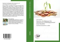 Bookcover of Gestion stratégique des ressources et développement local durable