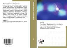 Couverture de Physique-Optique Non Linéaire