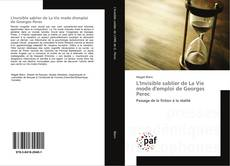 Обложка L'Invisible sablier de La Vie mode d'emploi de Georges Perec
