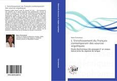 Bookcover of L´Enrichissement du français contemporain des sources argotiques
