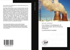 Les enjeux stratégiques & opérationnels de la Finance Carbone kitap kapağı