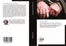 Bookcover of Francophonie et microfinance