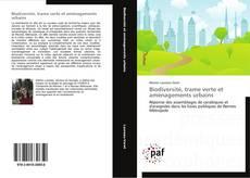Buchcover von Biodiversité, trame verte et aménagements urbains