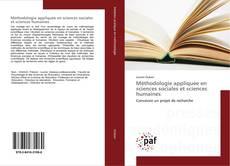 Capa do livro de Méthodologie appliquée en sciences sociales et sciences humaines
