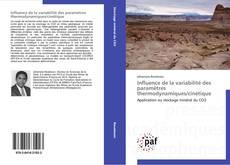Bookcover of Influence de la variabilité des paramètres thermodynamiques/cinétique