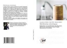Capa do livro de Membranes céramiques