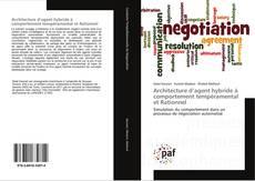 Buchcover von Architecture d'agent hybride à comportement tempéramental et Rationnel