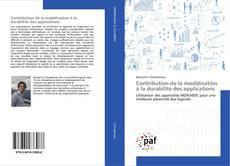 Couverture de Contribution de la modélisation à la durabilité des applications