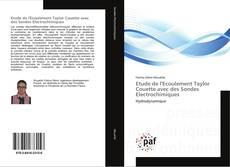 Bookcover of Etude de l'Ecoulement Taylor Couette avec des Sondes Electrochimiques
