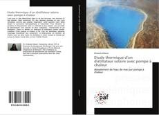 Capa do livro de Etude thermique d'un distillateur solaire avec pompe à chaleur