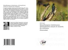 Portada del libro de Woodhoopoe violetmasse, dimorphisme sexuel et ressorts de manteau