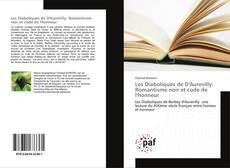 Capa do livro de Les Diaboliques de D'Aurevilly: Romantisme noir et code de l'honneur