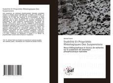 Copertina di Stabilité Et Propriétés Rhéologiques Des Suspensions