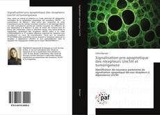 Portada del libro de Signalisation pro-apoptotique des récepteurs Unc5H et tumorigenese