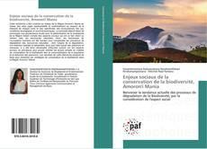 Buchcover von Enjeux sociaux de la conservation de la biodiversité, Amoron'i Mania