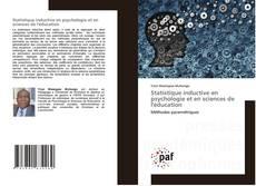 Copertina di Statistique inductive en psychologie et en sciences de l'éducation