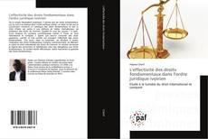 Copertina di L'effectivité des droits fondamentaux dans l'ordre juridique ivoirien