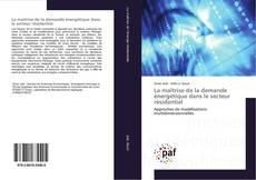 Bookcover of La maîtrise de la demande énergétique dans le secteur résidentiel