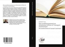 Pré-conditionnement en dimension infinie et Transport neutronique kitap kapağı