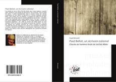 Copertina di Paul Bellat, un écrivain colonial