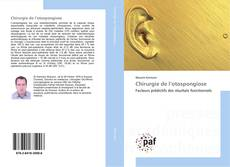 Обложка Chirurgie de l'otospongiose