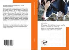 Copertina di Effet du stress thermique sur la vache laitière en tunisie