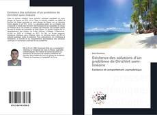 Bookcover of Existence des solutions d'un problème de Dirichlet semi-linéaire