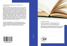 Bookcover of Performance financiere et sociale de la microfinance