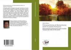 Couverture de Préromantisme et Romantisme dans la poésie française