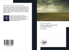 Couverture de Philosophie des droits fondamentaux