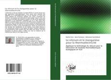 Couverture de Le silicium et le manganèse pour la thermoélectricité