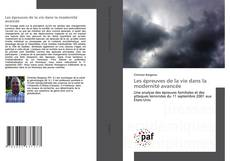 Les épreuves de la vie dans la modernité avancée kitap kapağı