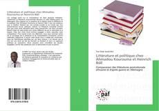 Обложка Littérature et politique chez Ahmadou Kourouma et Heinrich Böll