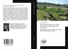 Buchcover von Des cités-jardins à la ville durable: à la croisée des concepts