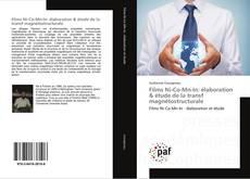 Capa do livro de Films Ni-Co-Mn-In: élaboration & étude de la transf magnétostructurale