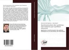 Capa do livro de Synchronisation des systèmes non linéaires par synthèse récursive