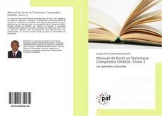 Bookcover of Manuel de Droit et Technique Comptable OHADA. Tome 2