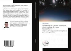 Borítókép a  Réactivité de l'azote atomique et du radical OH pour l'astrochimie - hoz