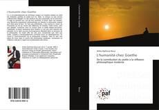 Buchcover von L'humanité chez Goethe