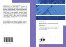 Analyse et caractérisation optique kitap kapağı