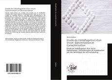 Обложка Etude de l'oléofugation d'un tricot: Optimisation et Caractérisation