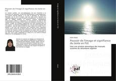 Bookcover of Pouvoir de l'image et signifiance du texte en FLE