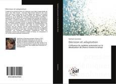 Décision et adaptation kitap kapağı