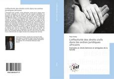 Portada del libro de L'effectivité des droits civils dans les ordres juridiques africains