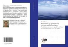 Portada del libro de Économie et gestion des ressources halieutiques