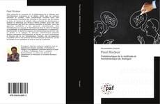 Bookcover of Paul Ricœur