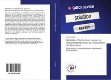 Bookcover of Modèles Contextuels pour la Recommandation et l'Expansion de Requêtes